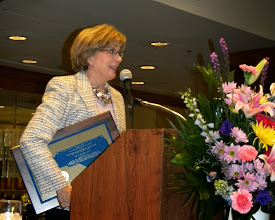 Photo: Barbara Mize - distinguished service award