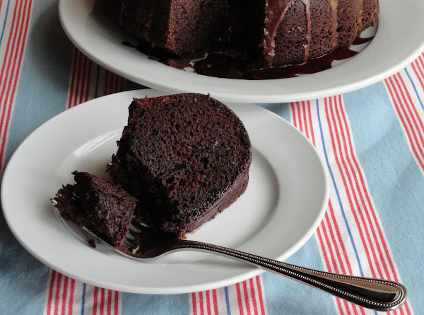Fudge Brownie Cake Recipe
