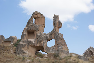 Photo: Goreme in Cappadocia region of central Turkey.