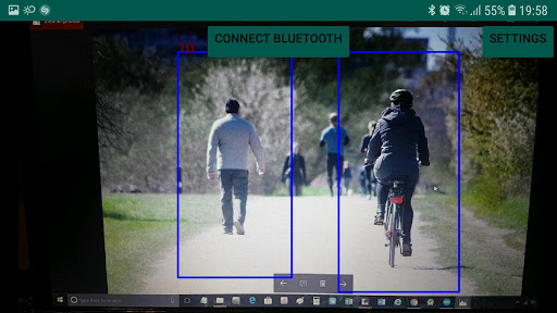 Arduino Object Detection Tracking App Report on Mobile