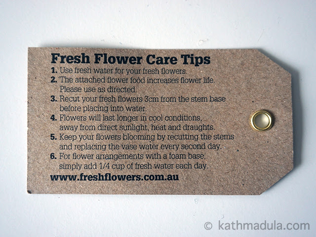 Fresh Flower: Flower Care Tips