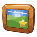 Beautiful Pictures: A Widget icon