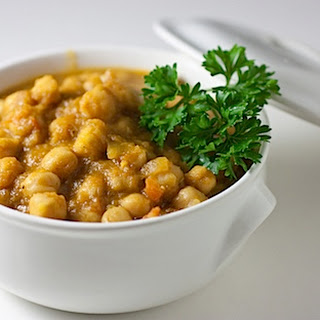 Easy Chana Masala.