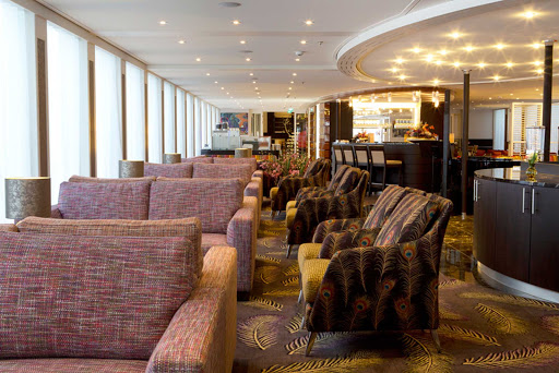 amasonata-lounge.jpg - The lounge aboard the 164-passenger AmaSonata, which offers itineraries that include Budapest and Austria.