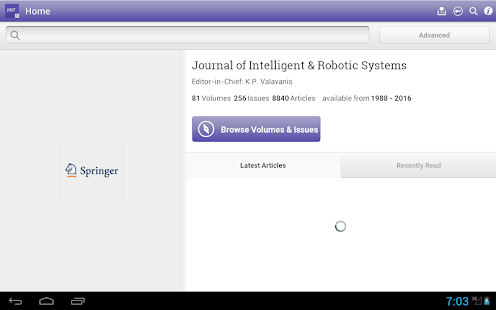 Intelligent and Robotic Syst- screenshot thumbnail