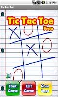 Screenshot of Tic-tac-toe