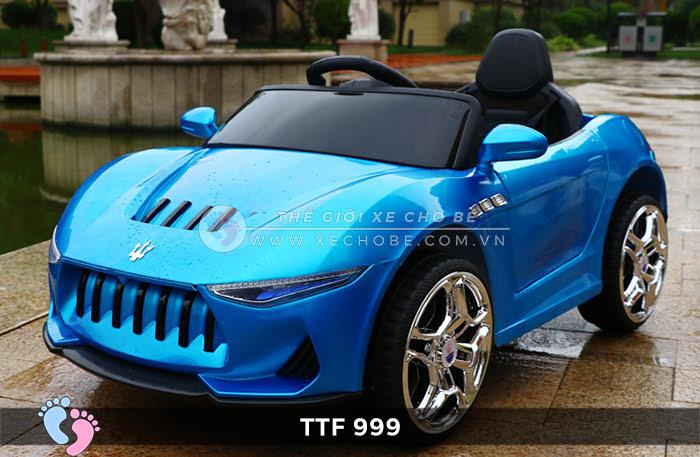 Ô tô điện đồ chơi trẻ em cao cấp TTF-999 14