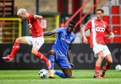 Le Standard de Liège ne parvient pas à enchaîner une troisième victoire de suite contre Genk
