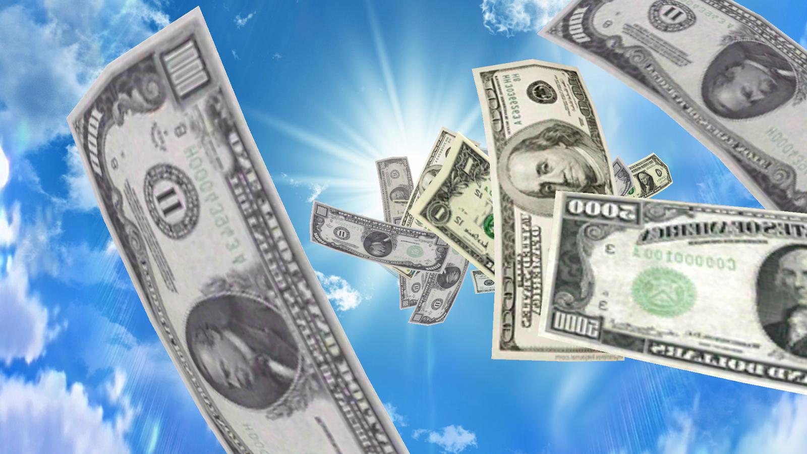 Falling Money 3d Live Wallpaper Best Money Rain Live Wallpaper