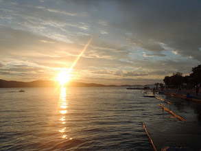 Photo: Sunset in Sibenik