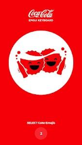 Coca-Cola Emoji Keyboard screenshot 0