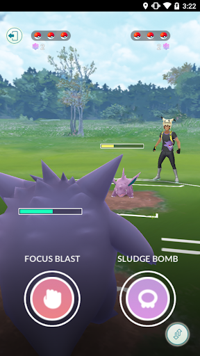 Screenshot for Pokémon GO in United States Play Store