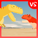 T-Rex Fights Carnotaurus icon