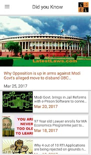 Latest Laws: Indian Laws, Bare Acts, News, IPC,CPC- screenshot thumbnail