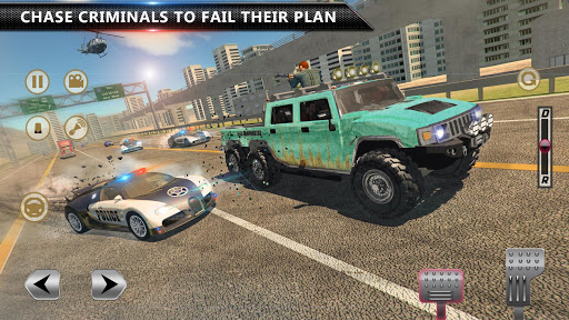 Cop Chase - Police Car Drifting Simulator 2018  screenshots 7