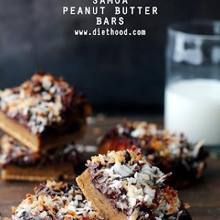 Samoa Peanut Butter Bars