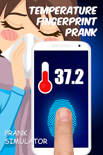 Temperature fingerprint prank