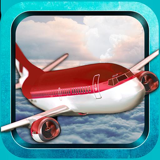 模拟の航空機フライトシミュレータの Airplane Flight LOGO-記事Game