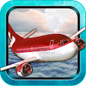 Airplane Flight Pilot Sim 3D icon