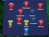 Club Brugge en KV Kortrijk zijn de hofleveranciers voor het Team van de Week