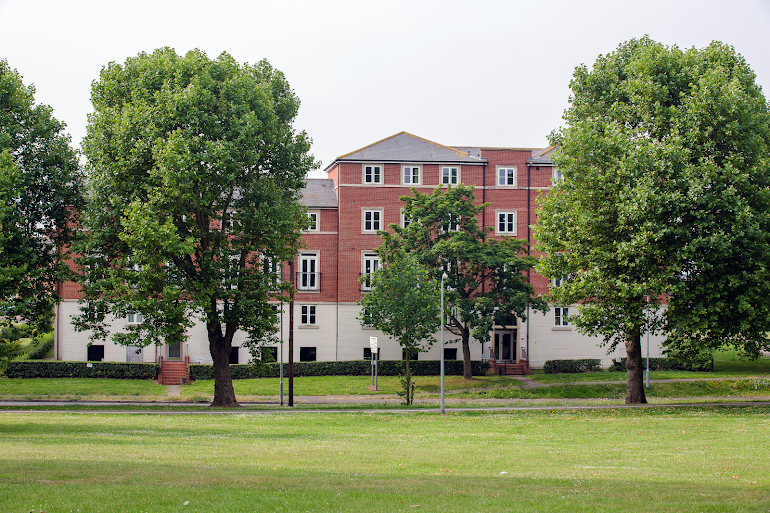 Exterior of Colchester Abbey Field Executive Apartments