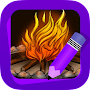 Learn How to Draw Flames APK icon