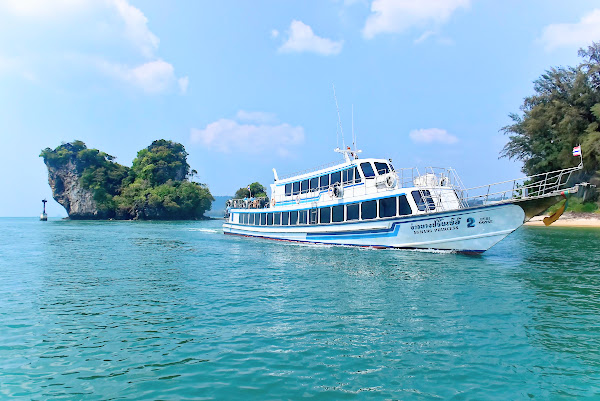 Travel from Railay Beach to Phuket by Ferry