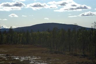 Photo: Sallatunturi rajan pinnasta kuvattuna