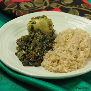 Moringa, Egg curry.