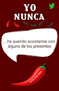 Yo nunca hot chili: juegos para beber picantes - náhled