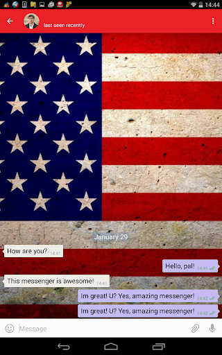 American Messenger Plus 1.9 screenshots 1