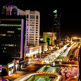 Long Exposure Shot by Arsath Farvesh [aha photographs] - City,  Street & Park  Night