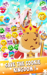 Prince Cookie - Match 3 Game - náhled