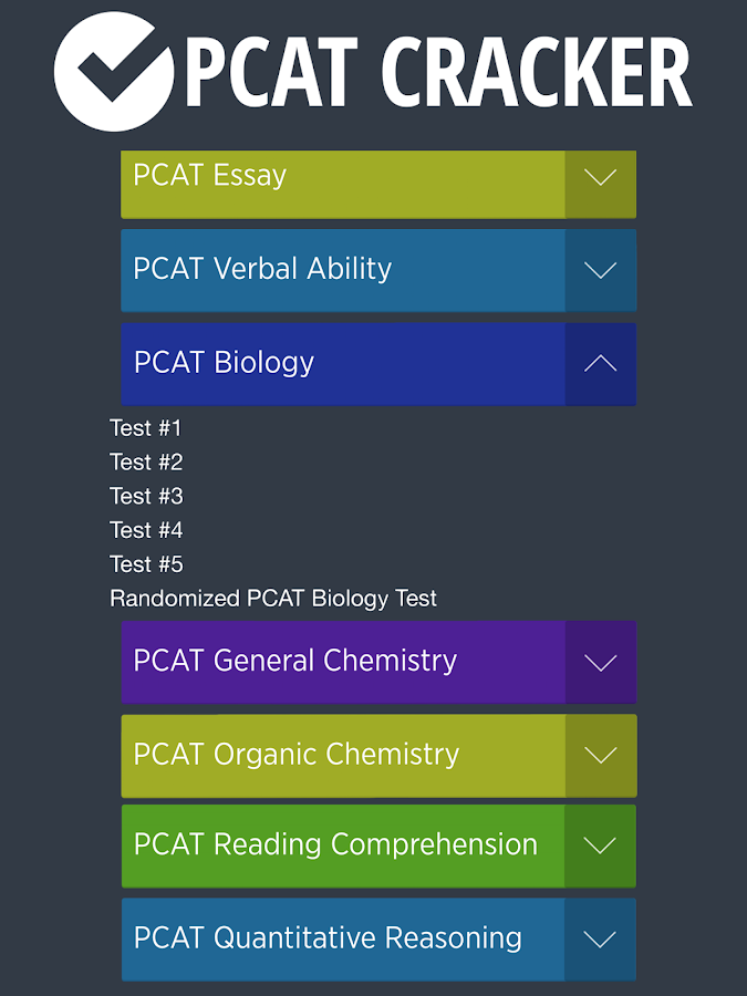 Pharmacy Admission Test (PCAT)- screenshot