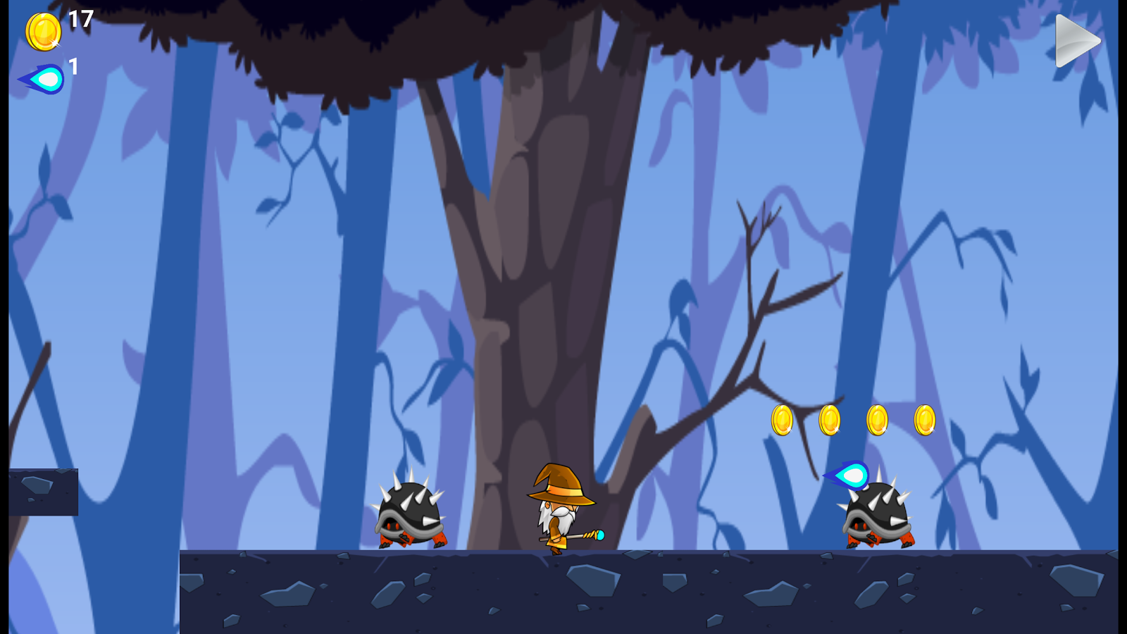 Wizard Run Adventure- screenshot
