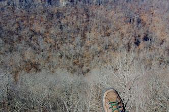 Photo: Boot above Whitaker Creek