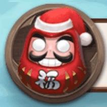 クリスマスダルマ