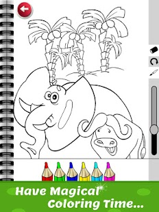 Kids Coloring Book Free Game Screenshot Thumbnail