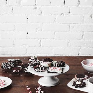 Chocolate Peppermint Sandwich Cookies