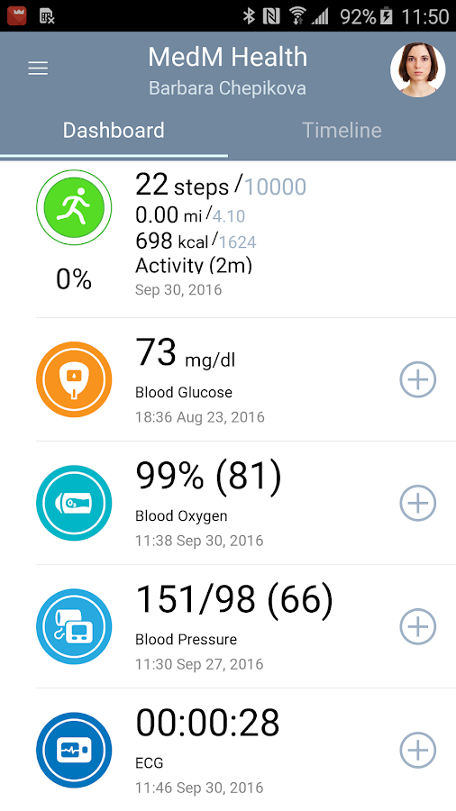 MedM Health- screenshot