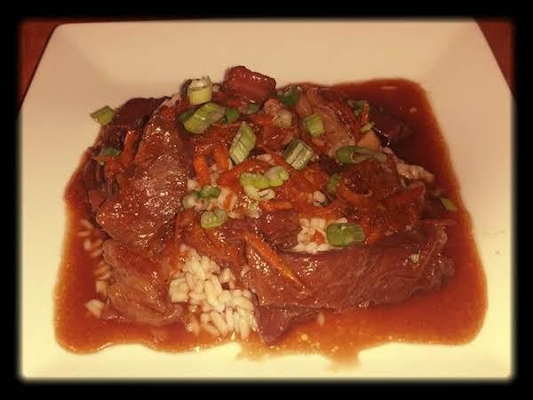 Slow Cooker Mongolian Beef Recipe