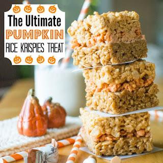 The Ultimate Pumpkin Rice Krispies Treat.