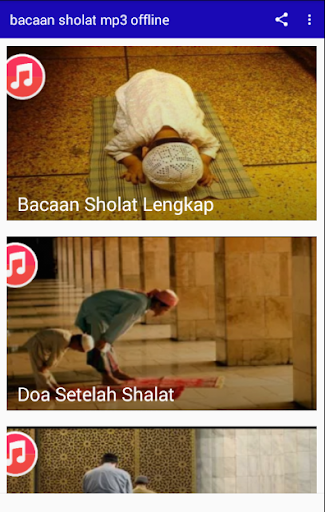 bacaan sholat mp3 offline for PC