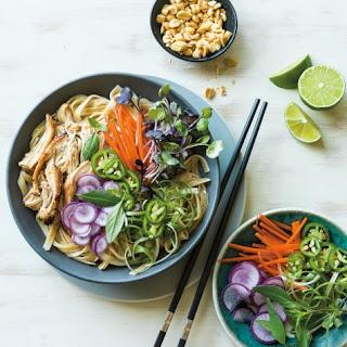 Instant Pot Thai Chicken Noodle Bowls.