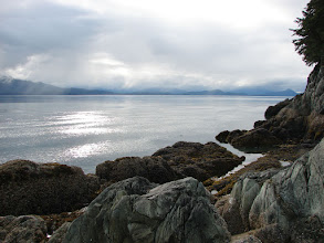 Photo: Looking northward up Stephens Passage from Point Anmer.