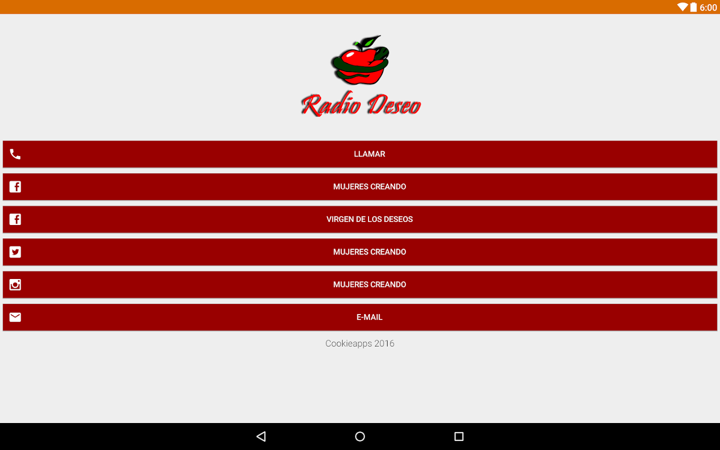 Radio Deseo- screenshot
