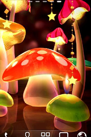 Mushroom Light LiveWallpaper скачать на планшет Андроид