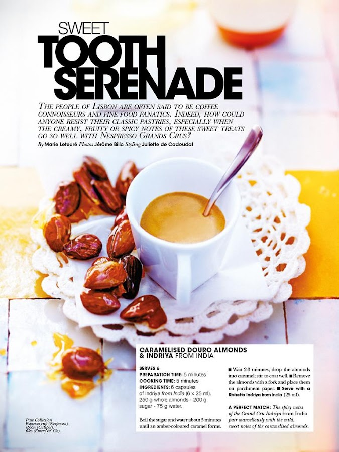 Nespresso Magazine- screenshot