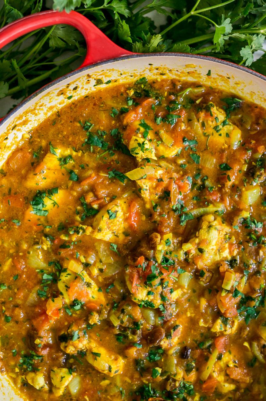 Paleo Moroccan Chicken Stew