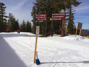 Photo: Only Burnout is open on backside of Northstar on Jan. 21, 2014